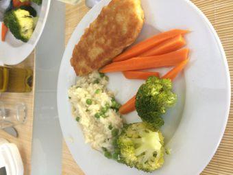 arroz de ervilhas com legumes e peixe.JPG